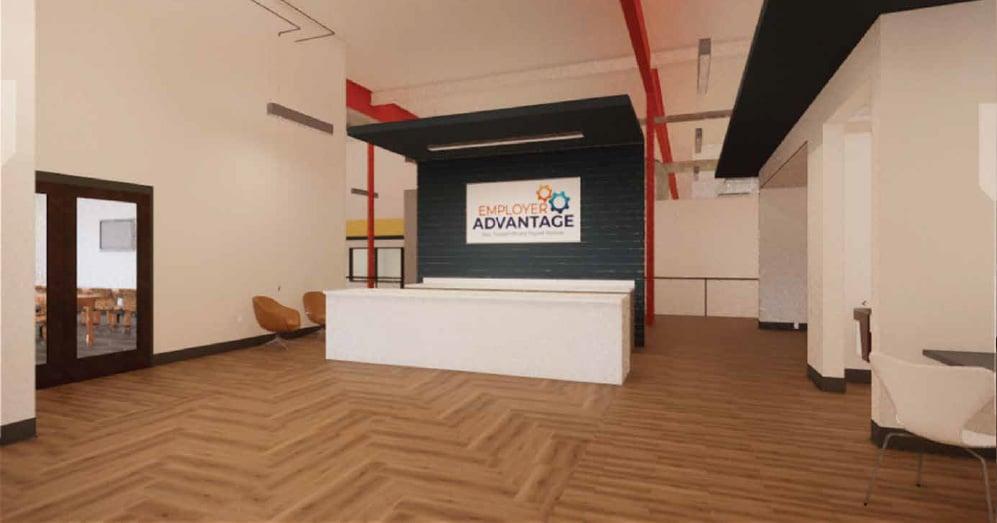 2 Interior Employe Advantage Renovation New Headquarters