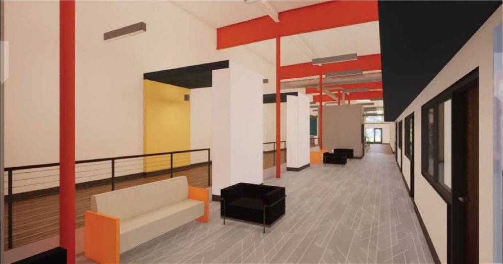 6 Interior Employe Advantage Renovation New Headquarters