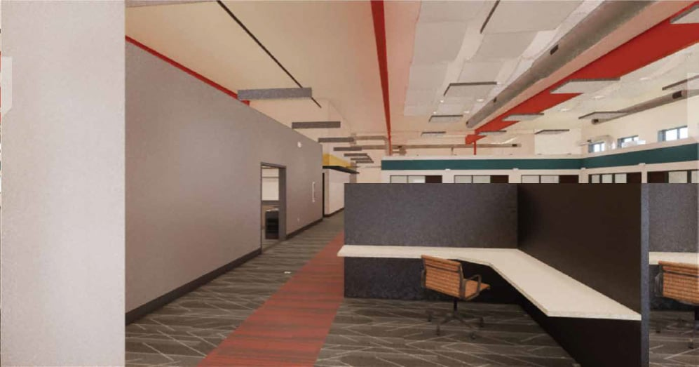 7 1 Interior Employe Advantage Renovation New Headquarters