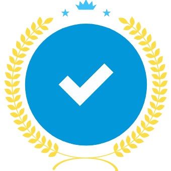 Check mark award